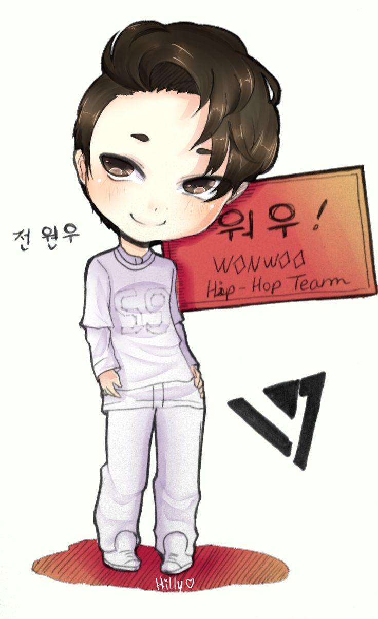 Wonwoo Fan Art