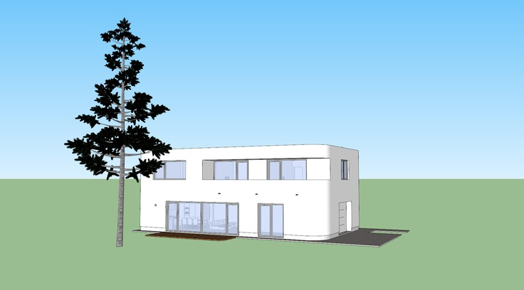 3D model of our home, created in Google Sketchup. Love the software!