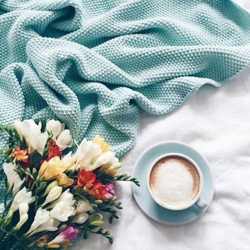 coffee flowers are some simple ways to make me happy and blessed. To feel lavished on in simple ways makes me feel special