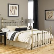 Leighton Iron Bed by Fashion Bed Group | Wrought Iron Metal Complete Headboard Only Footboard Bed