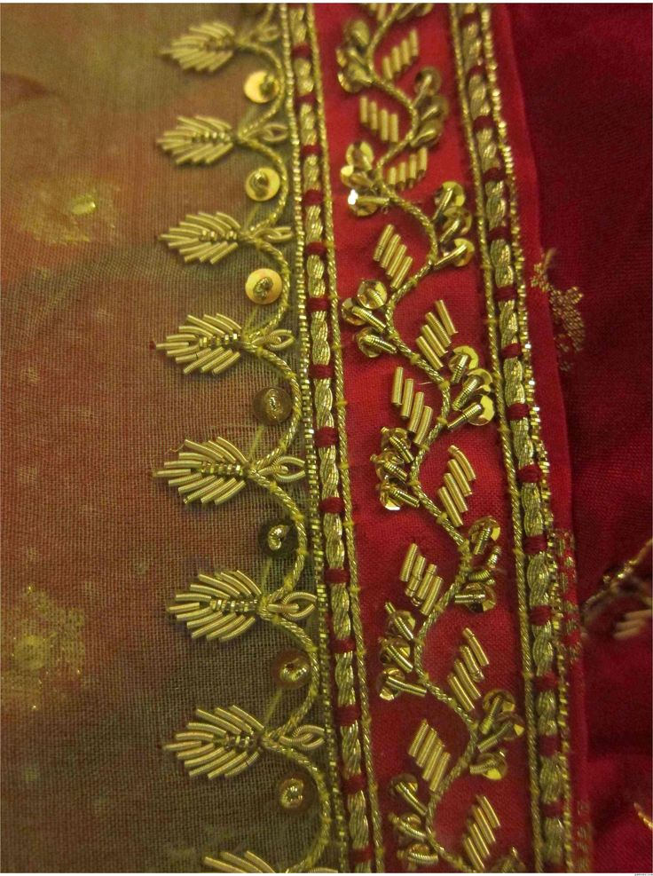 Best zari n zardozi images on pinterest embroidery