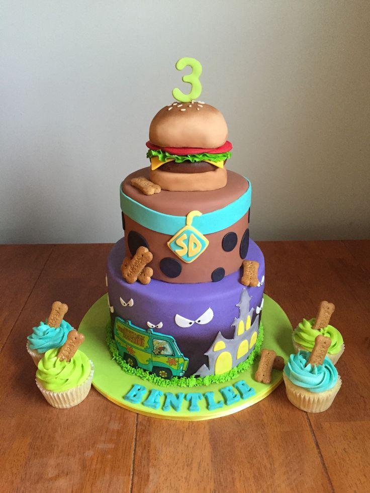 Sweet cakes by Jessica www.facebook.com/jessweetcakes  Scooby Doo cake