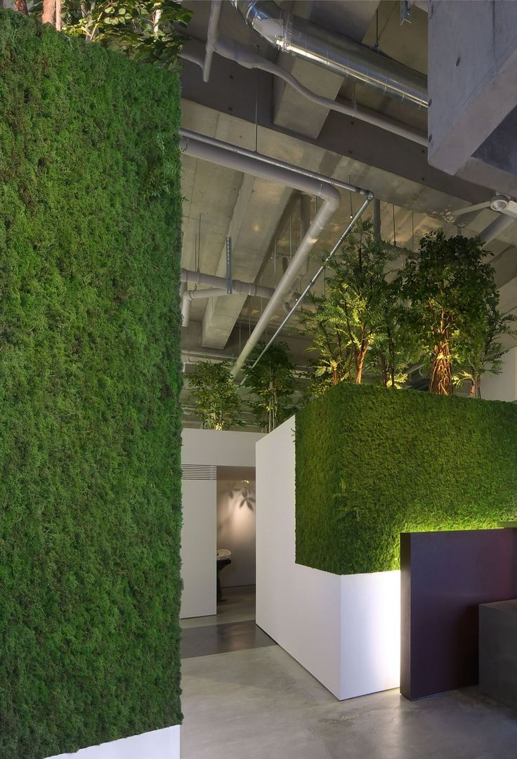 Livewall green wall system make conferences more comfortable - Galer A De Pacificdazzle Baton Atelier Kuu 6