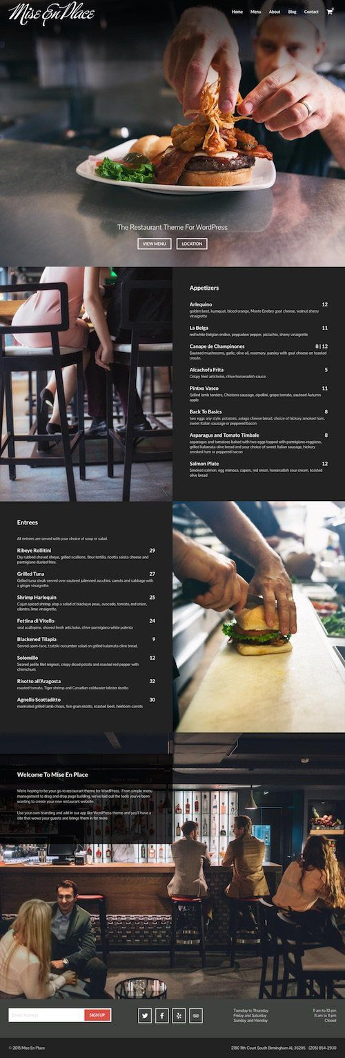 This is a collection of the best food and restaurant WordPress themes designed for restaurants, cafes, pubs, coffee shops, bars, and other food and beverage websites. If you run arestaurant these …