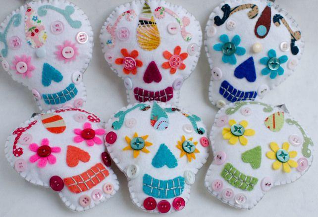Sugar Skull Decorations