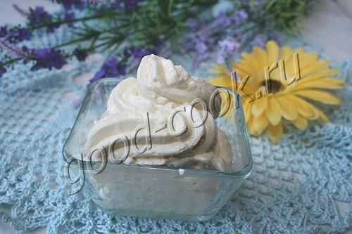 Масляно молочный крем для торта