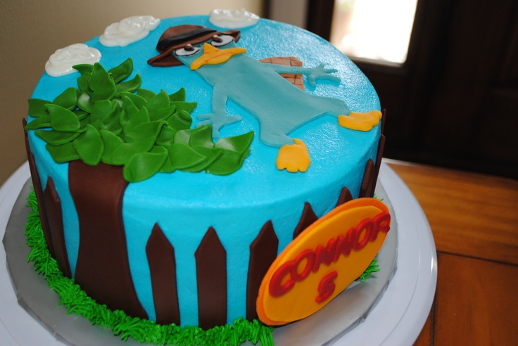 17 Best images about Perry the Platypus cake on Pinterest ...