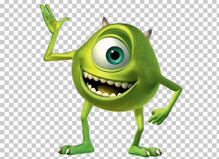 Mike Wazowski James P Sullivan Monsters Png Actor Amphibian Character Deuteragonist Fantasy Monsters Inc Characters Cartoon Monsters Png