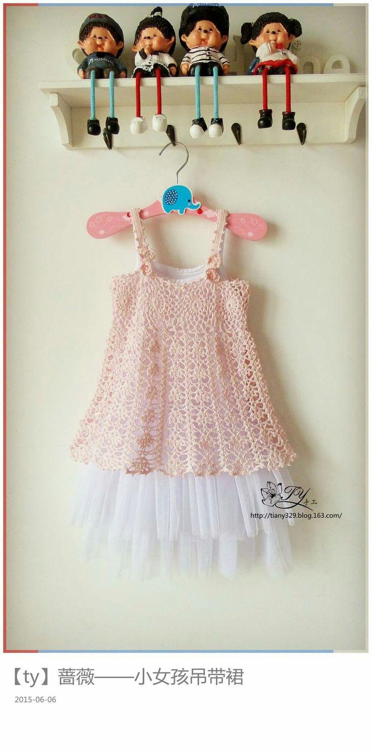 27 besten capas Bilder auf Pinterest | Gehäkelte babykleider ...