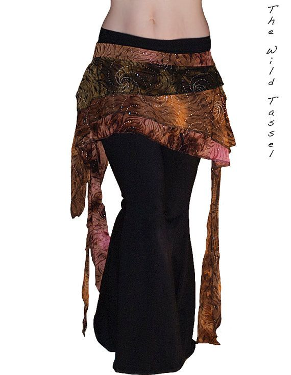 Tribal Fusion  Steampunk  Gothic  Belly Dance by TheWildTassel, $47.00
