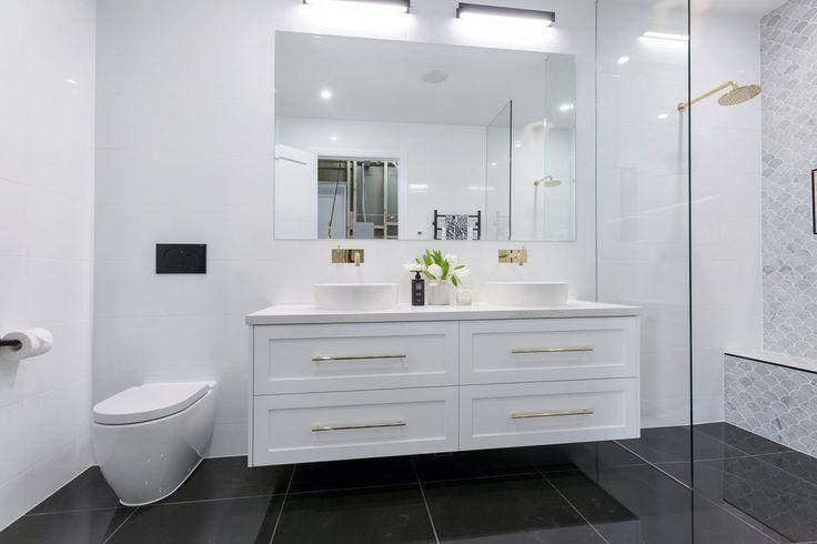 The Block 2016 - Week 3 Main Bathroom Reveals - Katrina Chambers