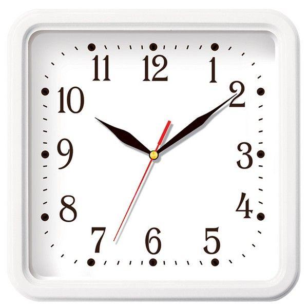 Часы настенные «Классика» (белые)