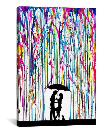Two Step Wrapped Canvas   zulily