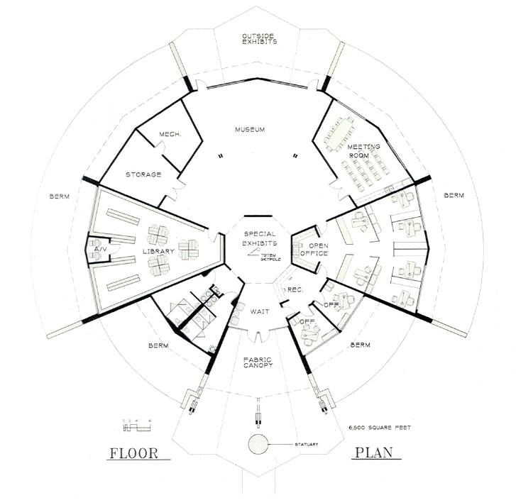 74 best circular plans images on pinterest round house for Circle house plans