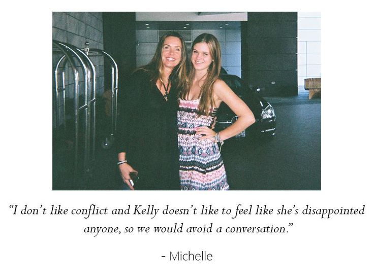 Michelle and her daughter, Kelly, were very close, but things started to change when Kelly entered high school. What are your biggest challenges in communicating with your daughter?