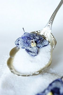How to Crystallize violets
