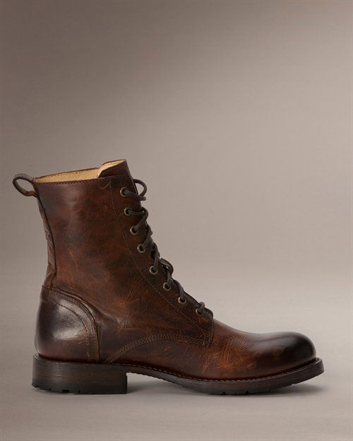 Rogan Tall Lace Up - View All Men's Boots - Western Boots, Harness Boots, & More - The Frye Company