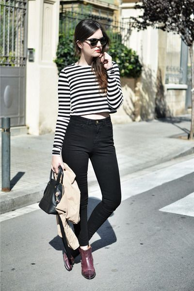 23 best images about Outfits with High Waisted Jeans on Pinterest ...