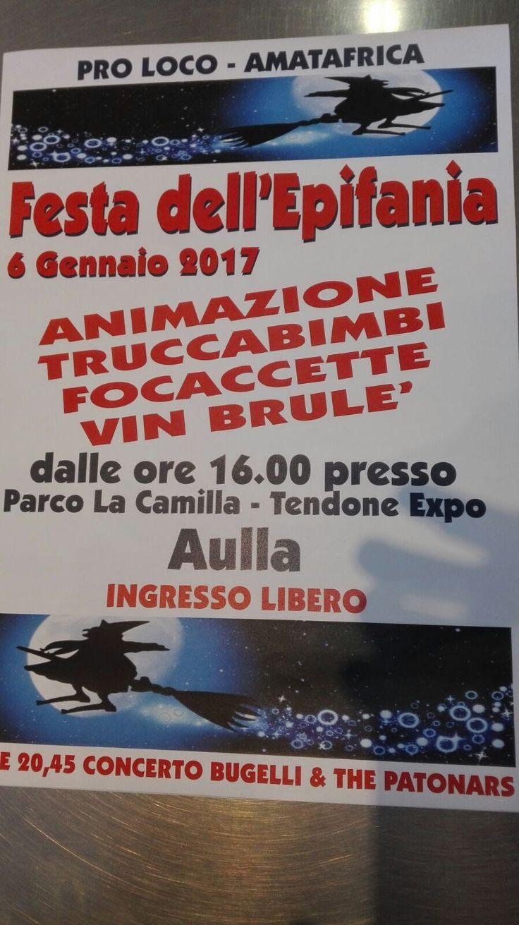 #Epifania #Lunigiana: grande #festa all'Expo di #Aulla con animazione, truccabimbi, focaccette e vin brulè #eventi #bambini #weekend