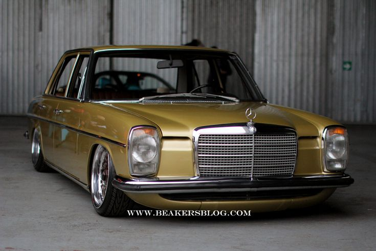 W114 - Only low. Only Mercedes-Benz.