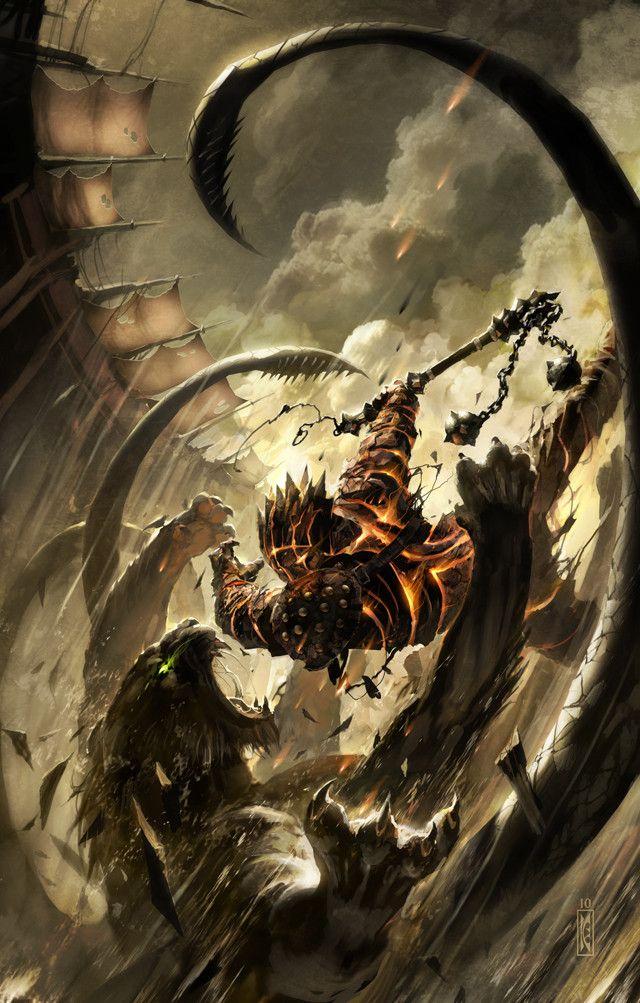 Livre : Forgotten realms / cover : Sandstorm by Clyde Caldwell   / http://forgottenrealms.wikia.com/wiki/Sandstorm_(novel)