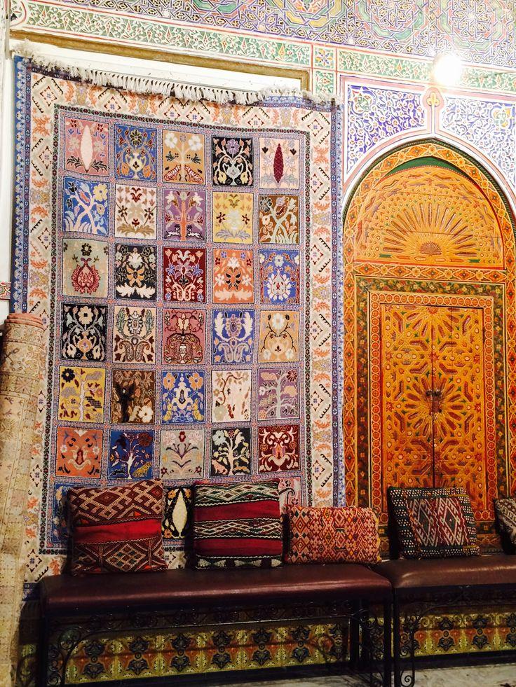 Moroccan rug, Marrakech