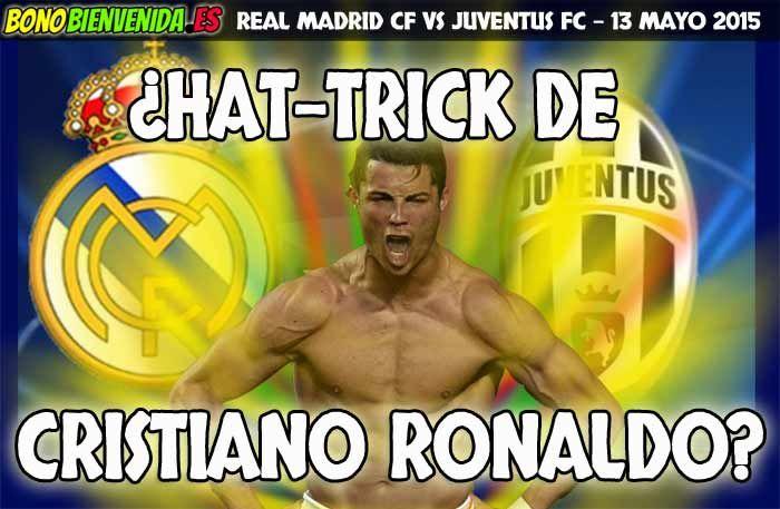 Apuestas Cristiano Ronaldo Real Madrid vs Juventus 13 Mayo 2015