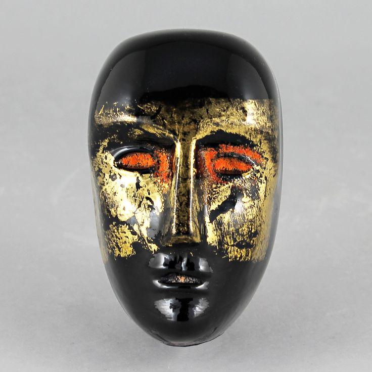 Bertil Vallien (Brains 21st Century) Fascinating Glass Head Oden