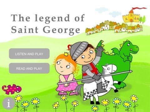 La llegenda de Sant Jordi (catalài angles) iPad - YouTube