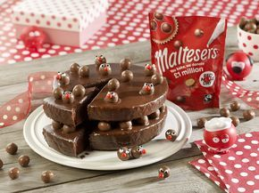Double the layers, double the fun! Enjoy baking your Comic Relief cakes with a little help from Maltesers  Remember, every photo uploaded along with #bakeamillion means another £5 donated! Happy baking! Click the image for the recipe! @rednoseday #rednoseday
