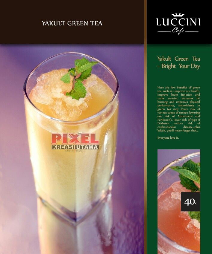 Yakult Green Tea