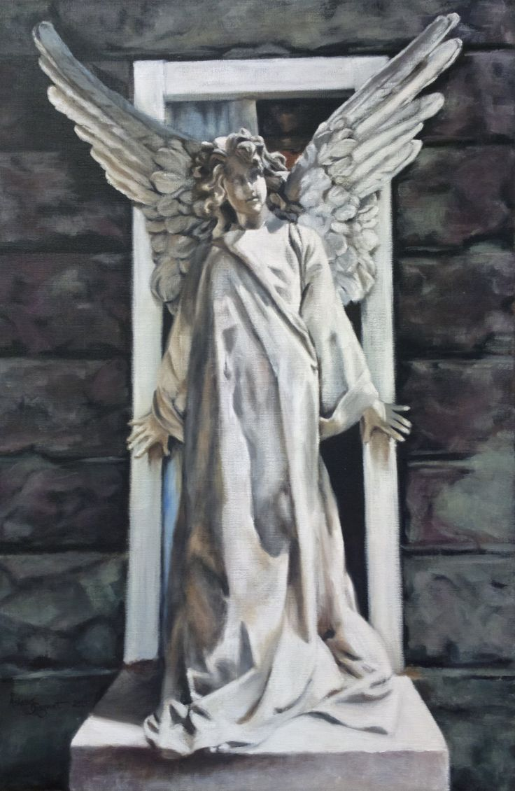 Guardian Angel,    oil on linen