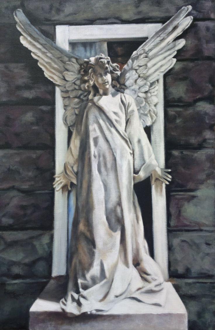Guardian Angel,    oil on linen