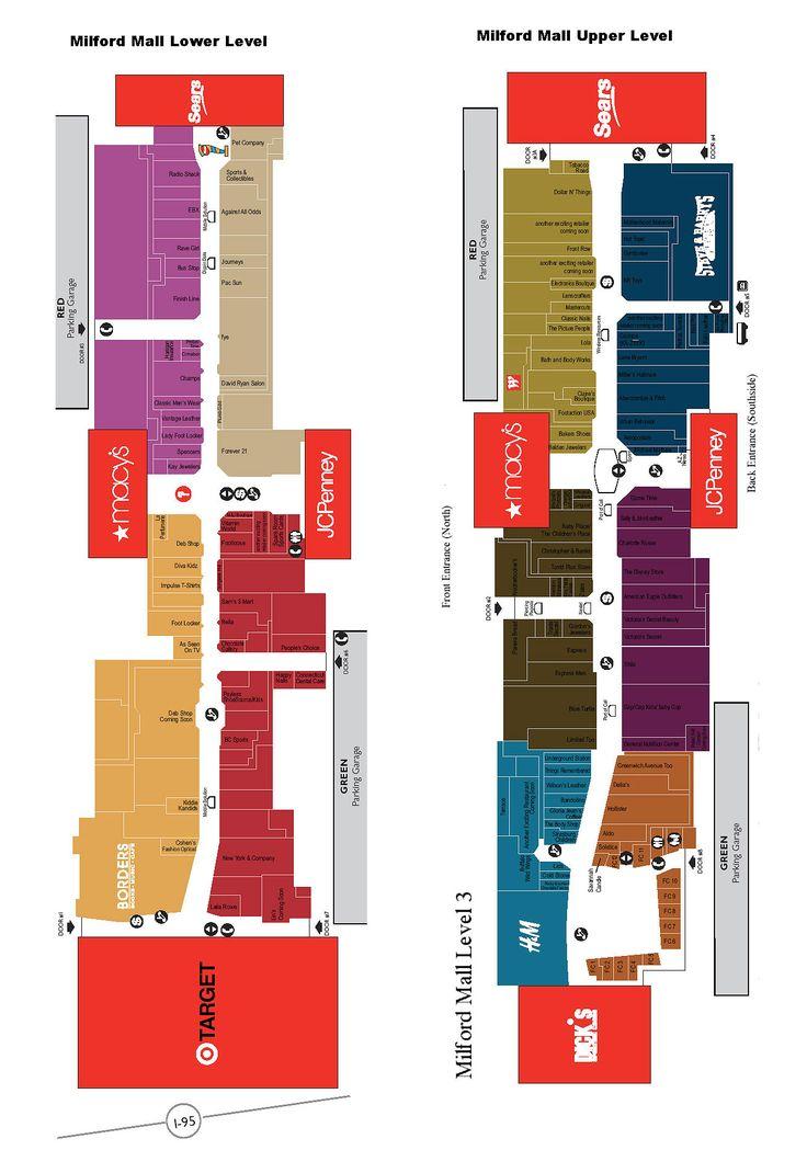 Topanga Mall Map Topanga Mall Map | Color 2018