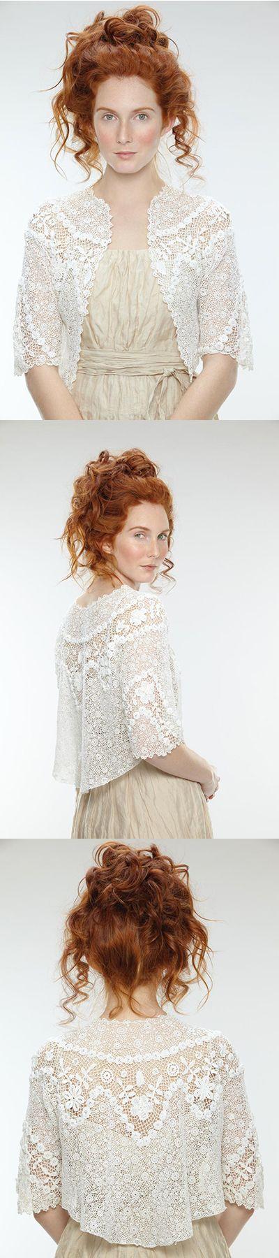 Irish Crochet-This looks so much like I did, it makes me realize how Irish I am!!