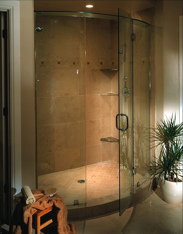 different types of shower doors and their