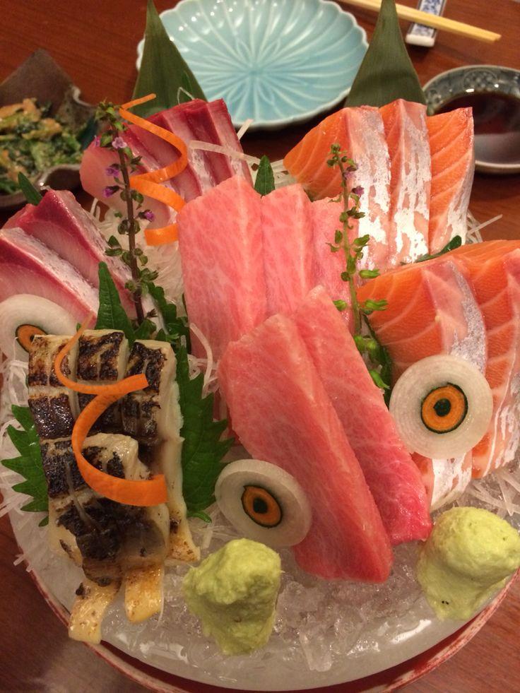 Lovely sashimi