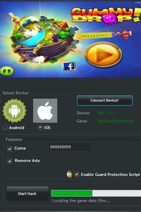 Gummy Drop Hack Tool Cheats Engine No Survey Download Free