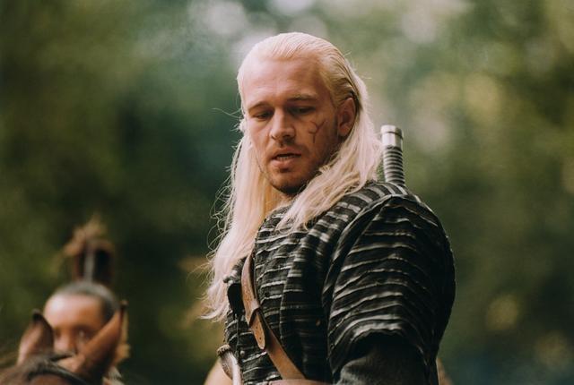 Michal Zebrowski as Geralt of Rivia in Wiedźmin (The Hexer)