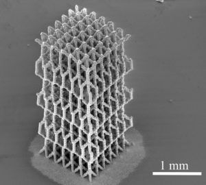 The WSU research team used a 3D printing method to create foglike microdroplets that contain nanoparticles of silver, depositing them at specific locations.