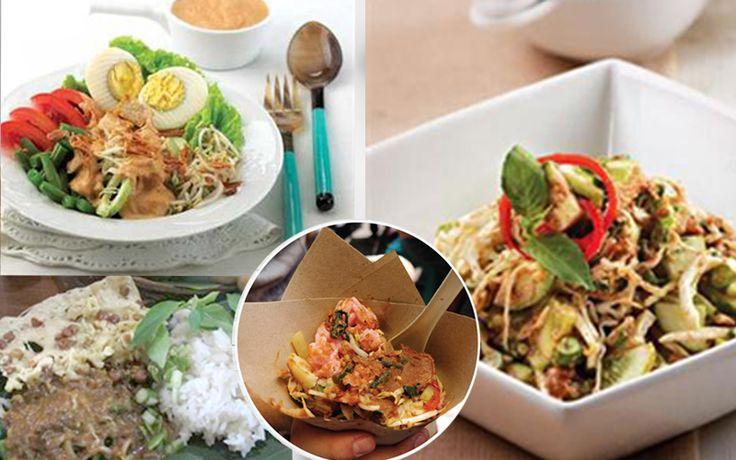 Beda Lotek Karedok Pecel Dan Gado Gado Makanan Makanan Indonesia Resep