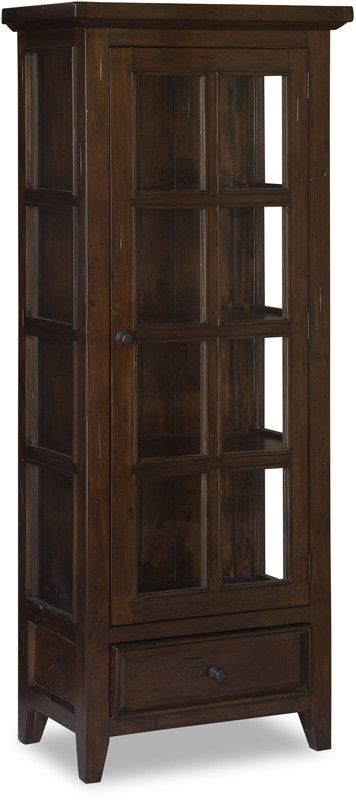 Hillsdale Furniture 4793-884W Tuscan Retreat Small Display Cabinet