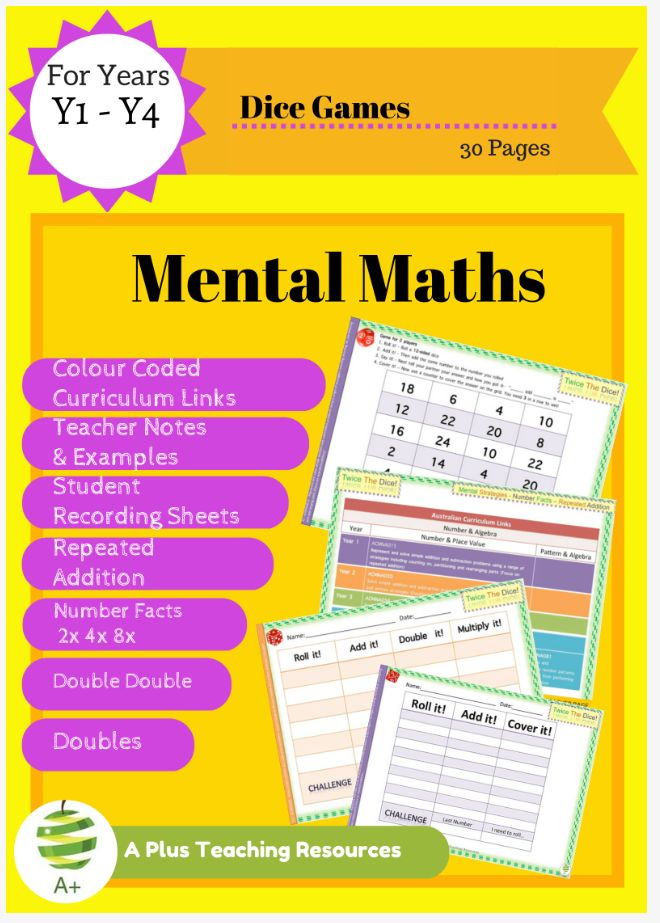 247 Best Mental Maths Strategies By A Plus Teaching Resources