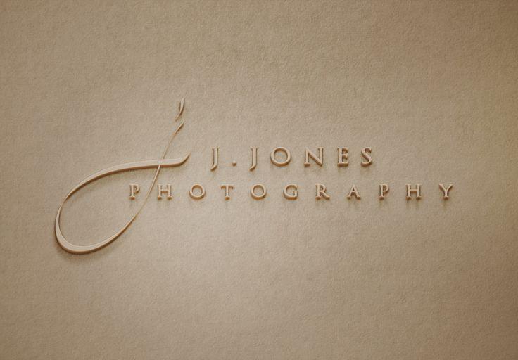 J.Jones Photography Logo - www.chicdesign.co.nz