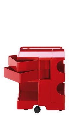 Scopri Carrello Boby -h 52, Rosso di B-LINE, Made In Design Italia