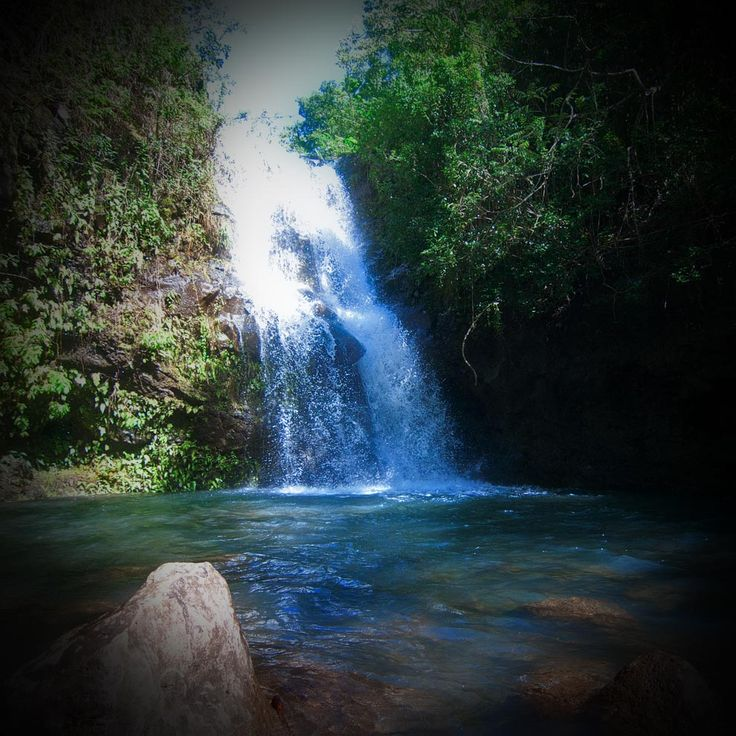 Waimano Falls & Manana Trail Beautiful waterfall and pool at the end of the hike. I actually have swam in this since I live in Hawaii. So magical