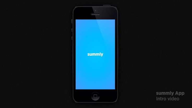 An intro video for a mobile news service summly, an app that makes summaries out of news and is 100%-optimized for the mobile screen size. Summly was founded by…
