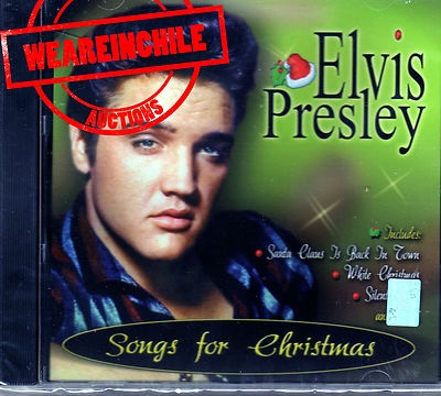 Elvis Presley songs for Christmas Chile issue