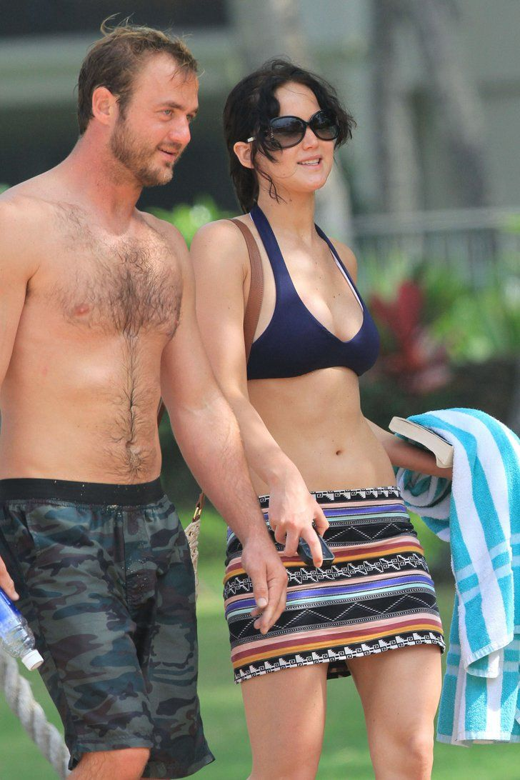 Pin for Later: Feast Your Eyes on Jennifer Lawrence's Hottest Bikini Moments Hawaii — November 2012