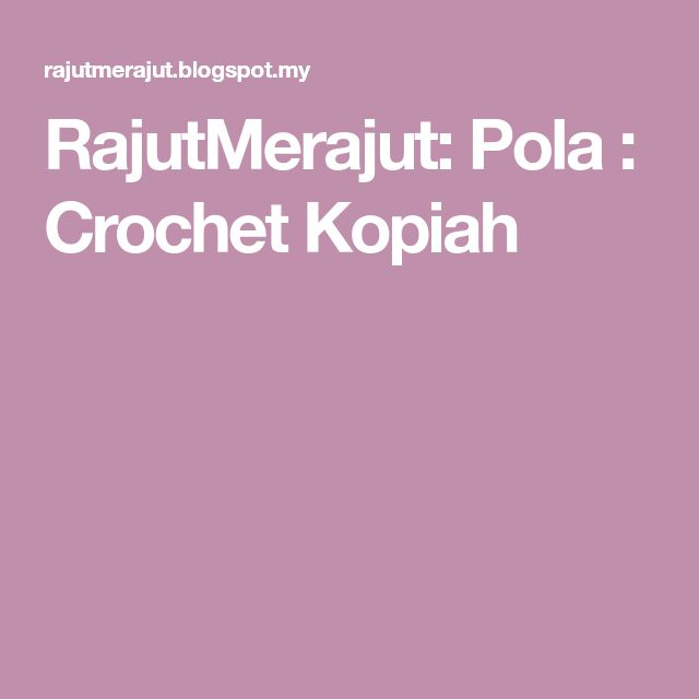 Img0003g 11651600 kopiah pinterest crochet ccuart Image collections
